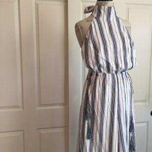 0d604ee274ff Dress Forum Pants - Dress Forum Striped Halter Neck Crop Jumpsuit